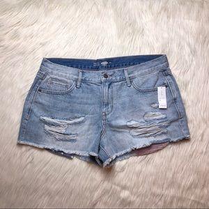 Old Navy Denim Distressed Jeans